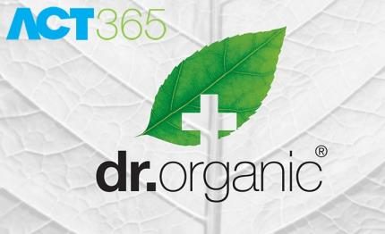 Dr Organic prescribes ACT365 naturally