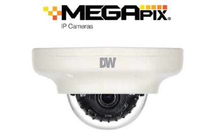 Digital Watchdog adds 4 MP mini indoor/outdoor vandal dome IP cameras