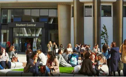 Castel's IP intercoms help secure University Queensgate Campus