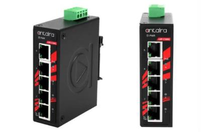 Antaira launches LNP-C500G-SFP industrial compact unmanaged Gigabit PoE+ switches