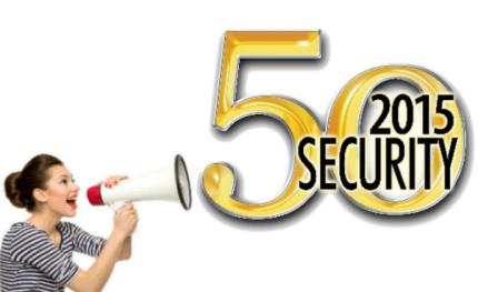 a&s International presents top 10 winners of Security 50, 2015