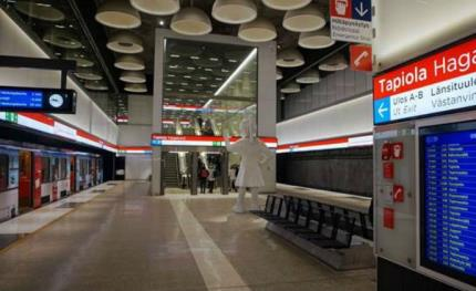 Bosch equips Helsinki Metro with public address and voice evacuation system