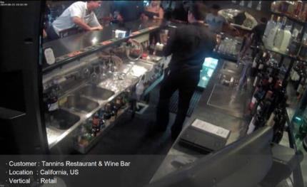 Tannins Restaurant and Bar improves security with Hanwha video surveillance system
