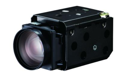 New camera module with CMOS Global Shutter and 30x Zoom