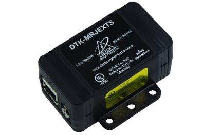 DITEK launches new Power over Ethernet extender circuits DTK-MRJEXTS