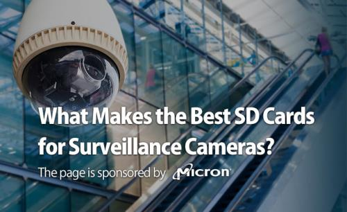 What Makes the Best SD Cards for Surveillance Cameras?