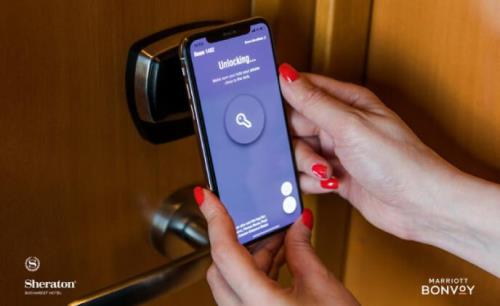 Sheraton Bucharest implements mobile check-in and guestroom entry