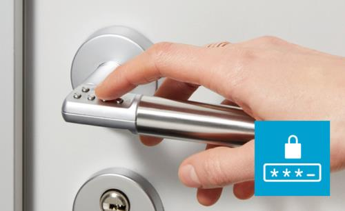 A simple, stylish PIN lock that keeps opportunist thieves out