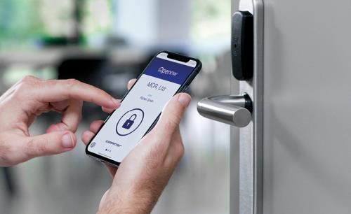 With Openow from SMARTair your mobile phone becomes a secure virtual key