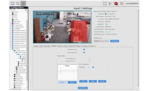 exacqVision V19.06 enhances security with automated features
