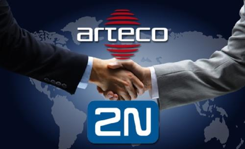 Arteco integrates video event management software with 2N Helios intercoms
