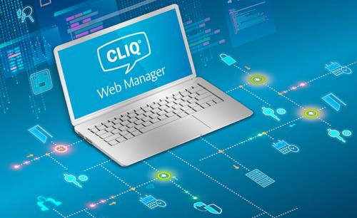 The CLIQ Web Manager help you manage a key-based access control system