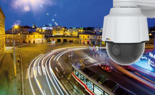 High performance PTZ camera with capabilities for advanced analytics
