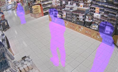 Unique dynamic masking protects privacy in video surveillance