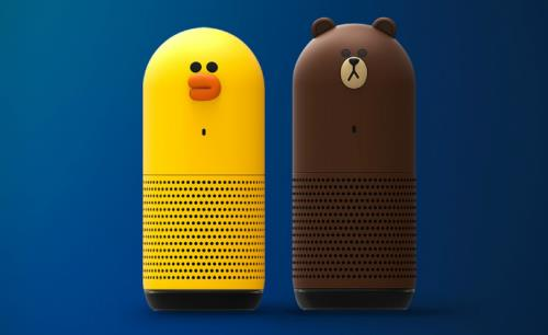 Messaging app Line introduces smart speakers with cute look