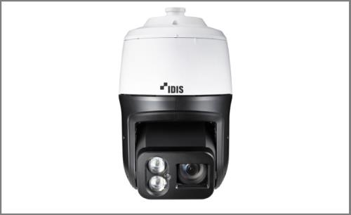 IDIS launches advanced Lightmaster PTZ camera