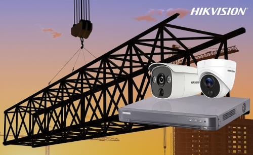 Forward Securities utilizes Hikvision PIR-equipped cameras to secure construction sites
