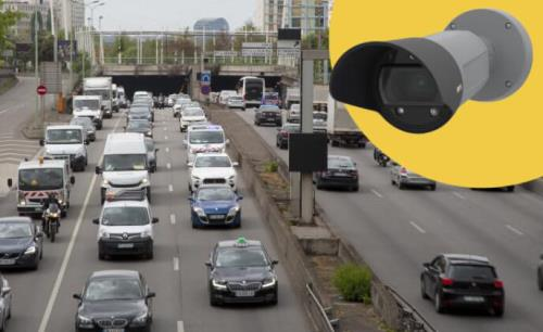 Axis license plate camera for capturing clear images and easy integration