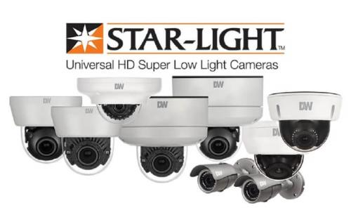Digital Watchdog STAR-LIGHT cameras support all HD analog standards at 2.1 MP resolution