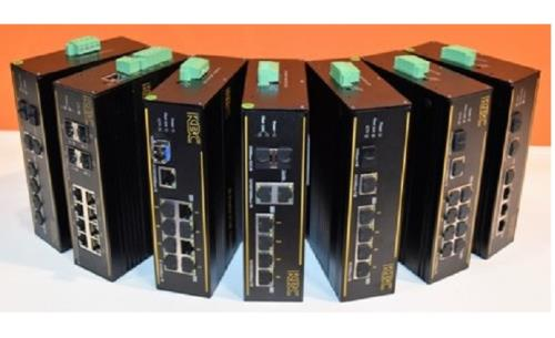 KBC launches industrially hardened PoE switches