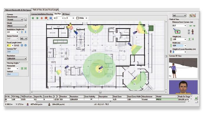 Vivotek introduces 3d project design tool for surveillance for Ip camera design tool