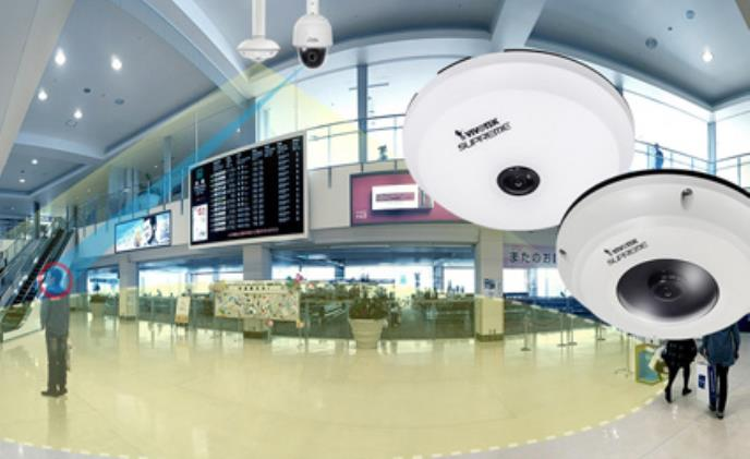 VIVOTEK launches new fisheye fixed dome cameras SF8174 series