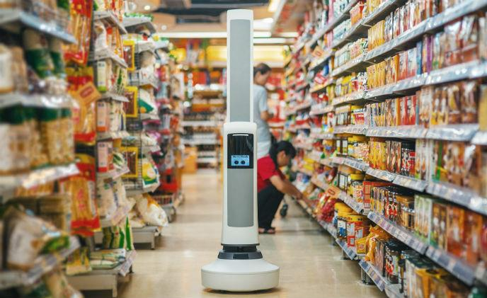 Here comes the robot that will work beside people in shops