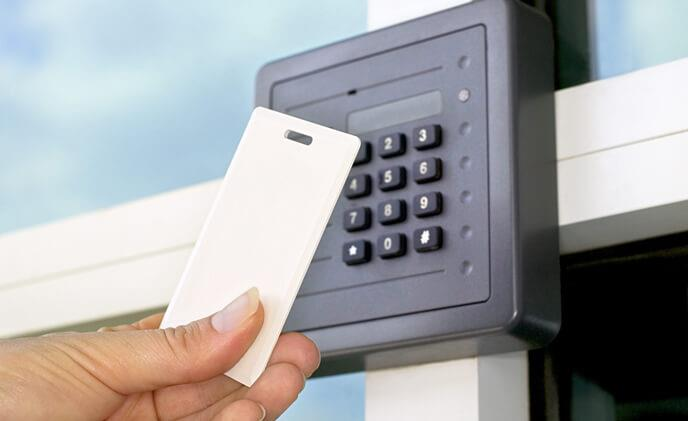 How is modern access control both protective and smart
