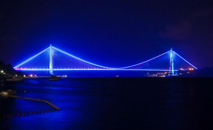 Yavuz Sultan Selim Bridge secured by Morse Watchmans