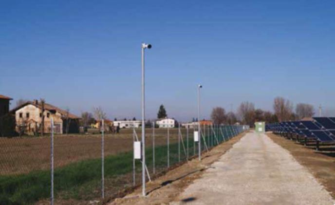 New solar plant in Italy adopts Axis thermal cameras for perimeter protection