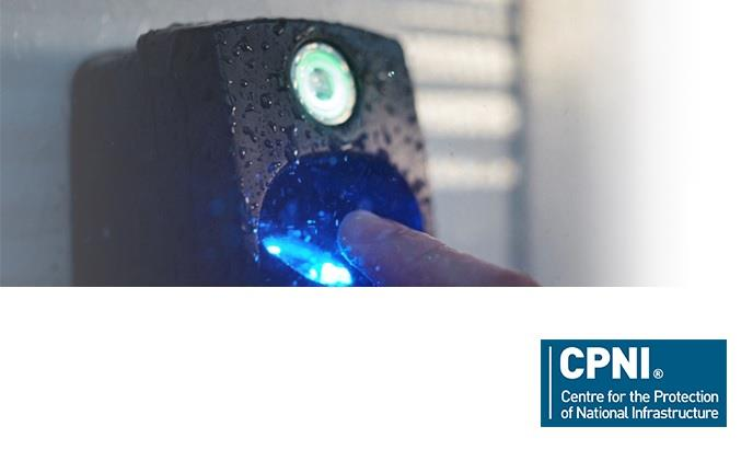 ievo fingerprint reader CPNI approved