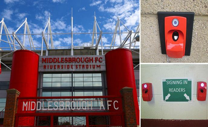 Middlesbrough FC's Riverside access control ensured by ievo