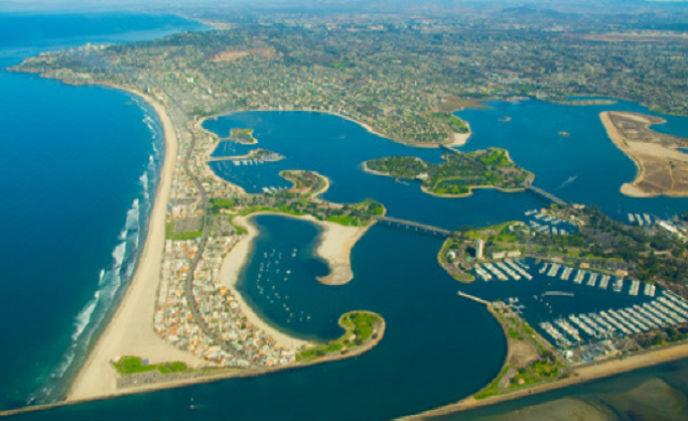 Critical infrastructure of HD coastal surveillance by CohuHD at Mission Bay Area