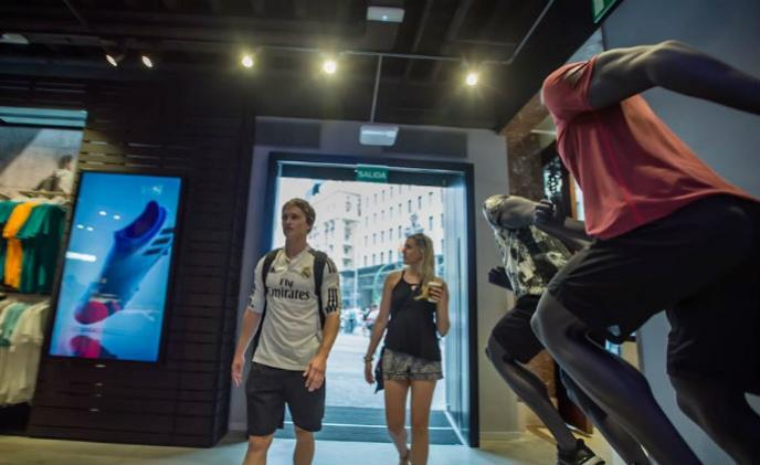 Adidas solved the conflict between security and design with Nedap