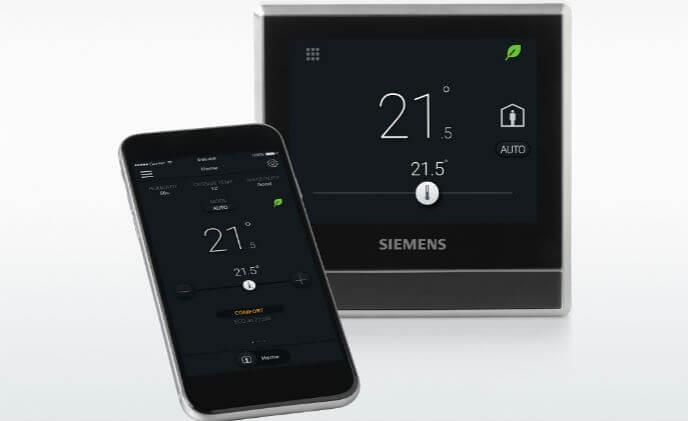 New smart thermostat from Siemens