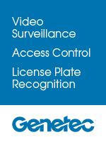 Video Survellance, Access Control, License Plate Recognition--Genetec