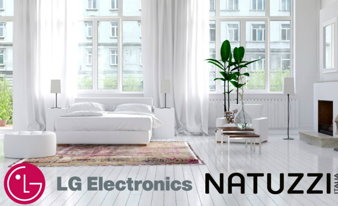 LG works with Italian furniture firm Natuzzi on smart home