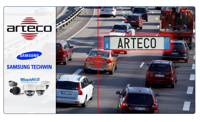 New version of Arteco license plate reading app available for Samsung Wisenet cameras