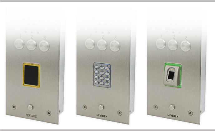 Videx Security releases new access control for VR panels