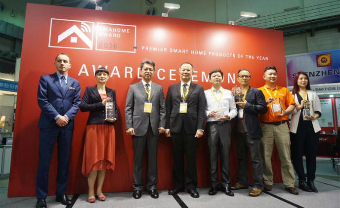 6 winners of SMAhome Award 2016 announced at SMAhome Expo 2016