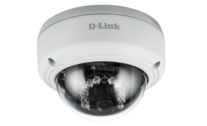 D-Link announced the Vigilance full HD PoE dome network camera