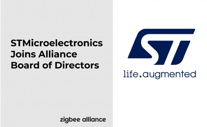 STMicroelectronics joins Zigbee Alliance Board of Directors