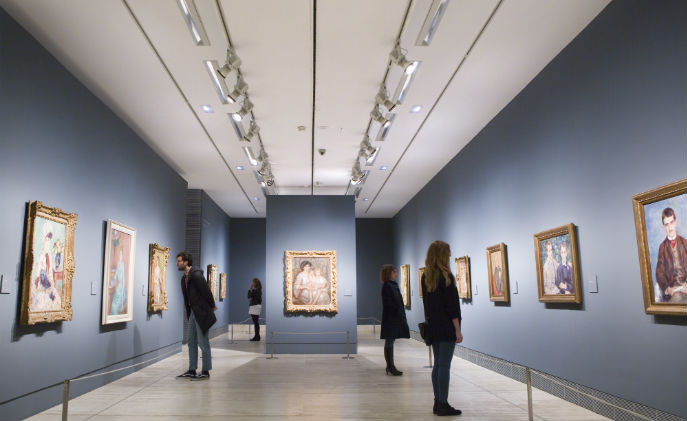 Bosch supports Madrid's museum migration from analog to IP surveillance