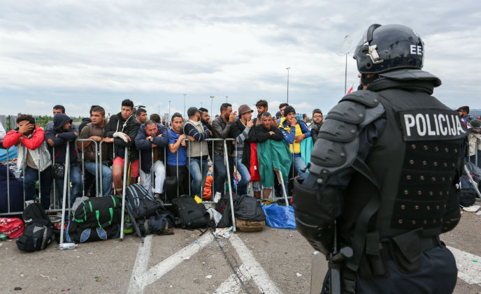 European migrant crisis and the security industry's role