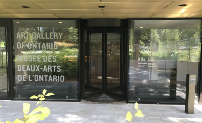 Art Gallery of Ontario enjoys space and comfort with Boon Edam's door entrance