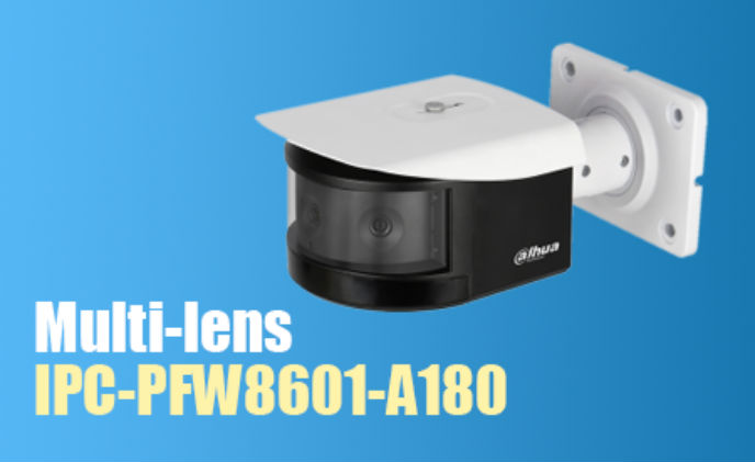 Dahua launches multi-lens 180-degree panoramic IR bullet camera