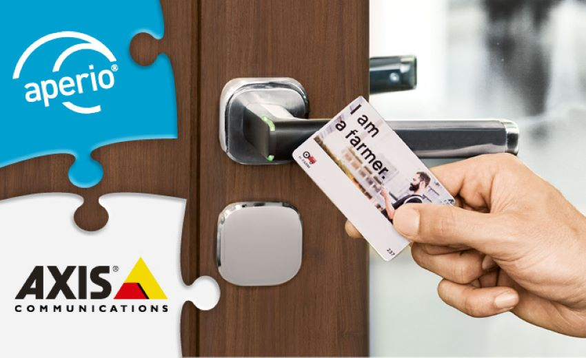 Real-time integration of Aperio wireless locks and AXIS Entry Manager saves money for end-users