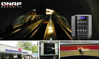 Tbilisi Metro applies QNAP NVR solution to safeguard the underground city