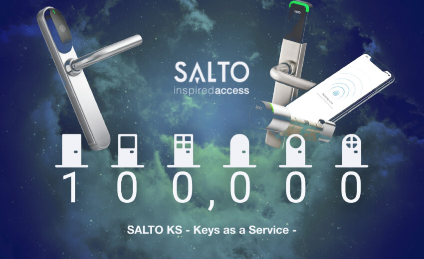 SALTO KS cloud-based smart access control reaches 100,000 access points