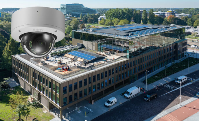 Sony 4K cameras make EDGE landmark office in Amsterdam smarter